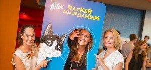 Promis feiern mit FELIX den Kinostart von Pets (3D)