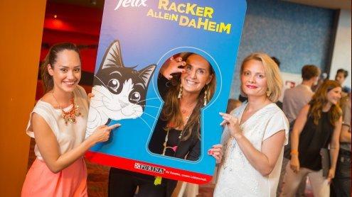 Promis feiern mit FELIX den Pets- Kinostart in der Millenium City