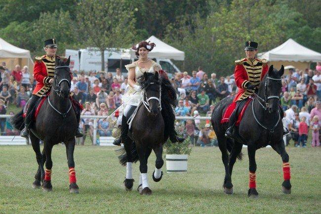 Familien werden zum großen Pferdefest auf Schloss Hof geladen.