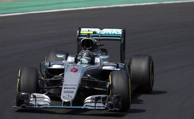 Nico Rosberg musste sich beim Großen Preis von Ungarn mit PLatz zwei hinter Lewis Hamilton begnügen.