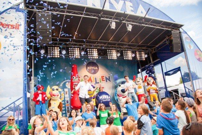 Am 16. und 17. Juli steigt das Nivea Familienfest.