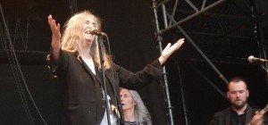 Leserreporterin bei Patti Smith-Konzert in der Wiener Arena