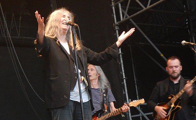 Patti Smith begeisterte das Arena-Publikum