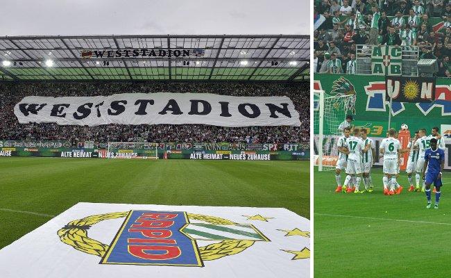 Die Eröffnung des Allianz-Stadions ist für Rapid rundum geglückt.