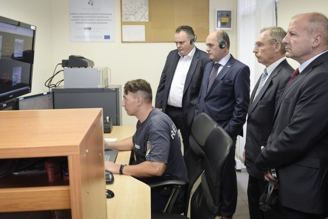 Innenminister Sobotka und Verteidigungsminister Doskozil trafen sich mit ihren ungarischen Amtskollegen