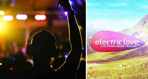 """Das """"Electric Love""""-Festival startet offiziell erst morgen."""