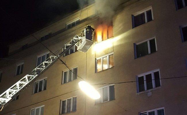 Eine 87-Jährige starb bei einem Wohnungsbrand in Wieden
