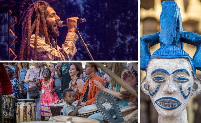 """Die """"Afrika Tage"""" finden von 29. Juli bis 15. August auf der Wiener Donauinsel statt."""