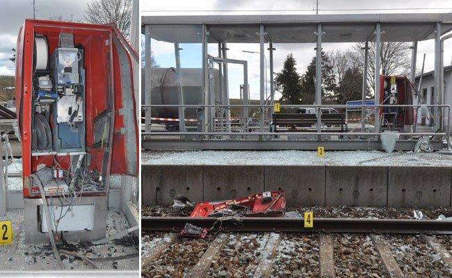 Der Mann sprengte mehrere Automaten an Bahnhöfen.