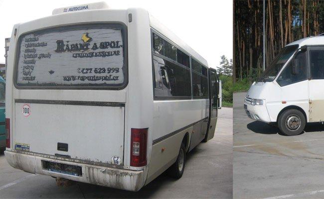 Der desolate Reisebus wurde bei Gmünd aus dem Verkehr gezogen.