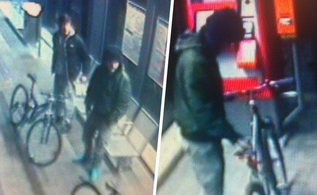 Die Polizei sucht nach diesen bislang unbekannten Tätern.