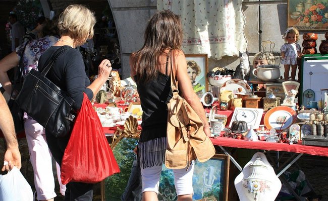Stöbern nach Luste und Laune auf den Wiener Flohmärkten.