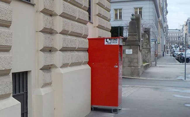 In der Nähe von Polizeistationen gibt es ab dem Sommer mehr Fundboxen der MA 48.
