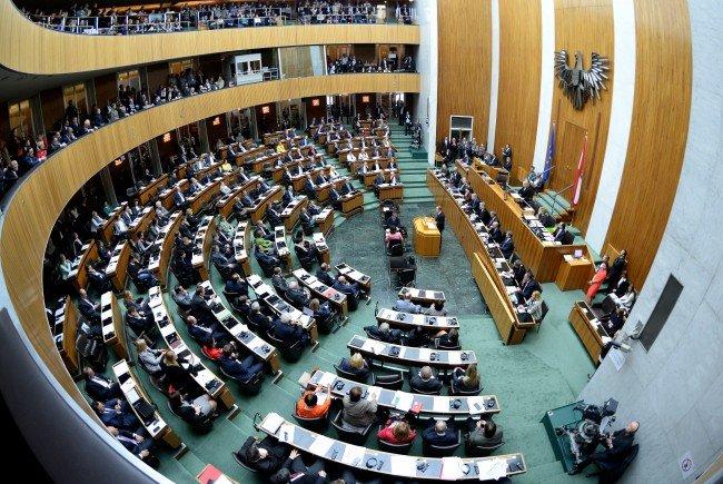Dem Nationalrat steht vor der Sommerpause noch viel Arbeit entgegen
