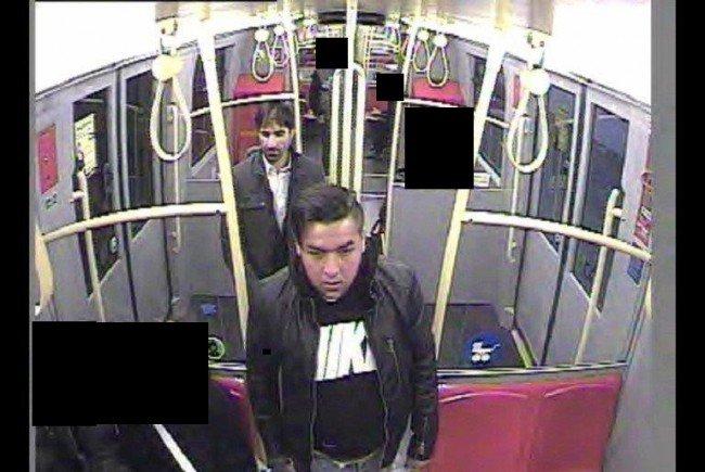 Die Polizei bittet bei der Suche nach diesen zwei Männern um Hinweise.