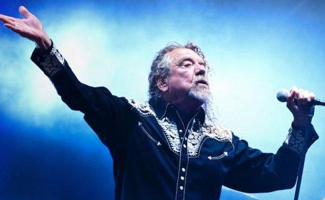 Jubel für Robert Plant in der Arena.