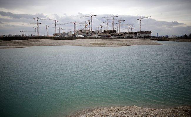 In der Seestadt Aspern kam es zu einem schweren Badeunfall