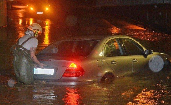 Schwere Unwetter auch in der vergangenen Nacht in NÖ.