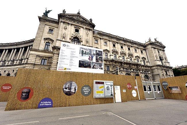 Bei der Pressekonferenz zum Wiener Weltmuseum