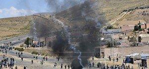Boliviens Vize-Innenminister von Streikenden erschlagen