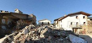 Schwieriger Wiederaufbau nach Erdbeben in Italien