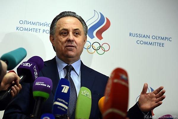 Mutko forderte wiederholt Konsequenzen gegen die WADA