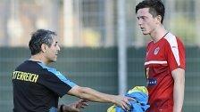 Große Fußstapfen für Gregoritsch im A-Team