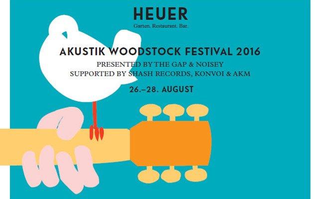 Das Akustik Woodstock Festival wird von THE GAP und Noisey präsentiert.