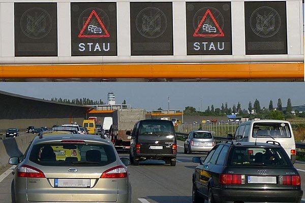 Auf der A4 kam es nach einem Unfall zu langem Stau