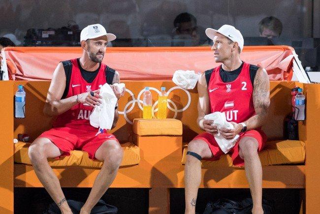 Clemens Doppler und Alexander Horst wissen noch nicht, wie es für Sie in Rio weitergeht.