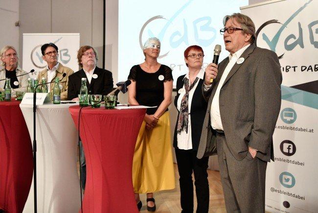 Alexander Van der Bellen hat prominente Unterstützer für die Bundespräsidentenwahl.