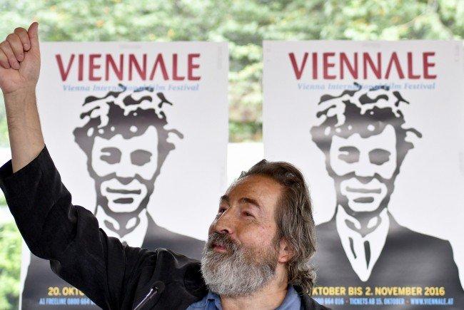 Festivaldirektor Hans Hurch präsentiert das Programm der diesjährigen Viennale