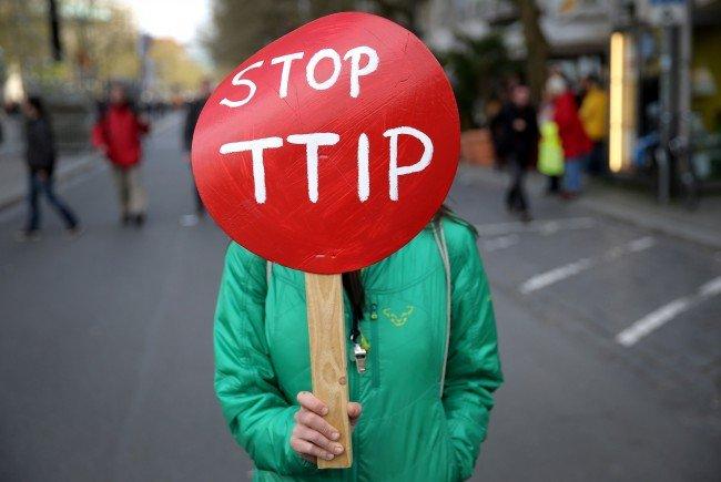 Die sechs Bürgermeister aus NÖ wollen TTIP verhindern.
