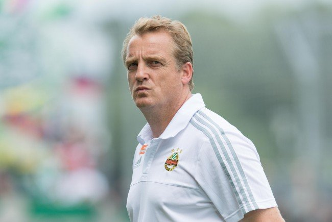 """Für Rapid-Trainer Mike Büskens war die 0:1-Niederlage in Altach ein """"Warnschuss."""""""