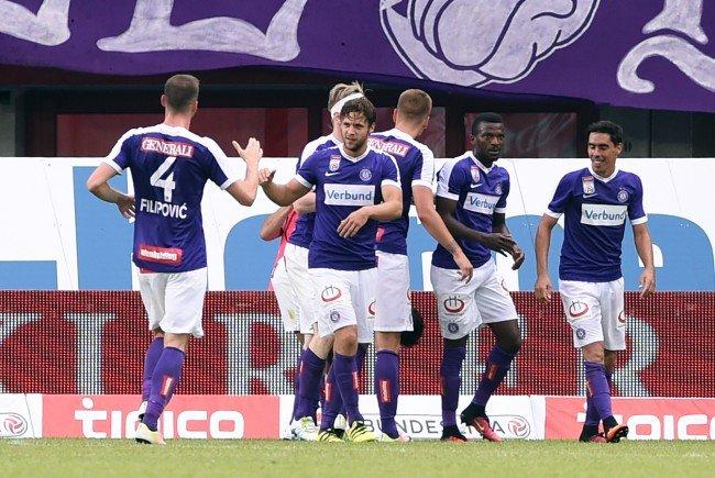 Austria Wien will sich gegen Rosenborg Trondheim aus der Formkrise schießen.