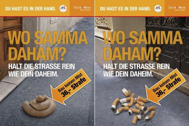 """Die Wiener """"Waste Watcher"""" ahnden Müllsünden in der Hauptstadt."""