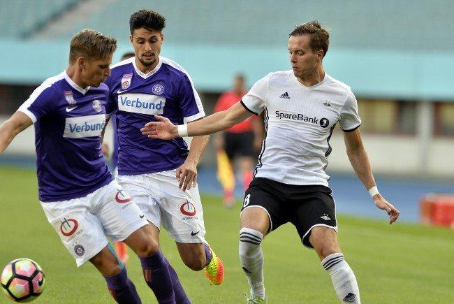 Die Austria kämpft im Lerkendal-Stadion von Trondheim um die Qualifikation für die Gruppenphase der Europa League.