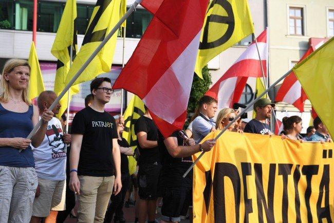 Die Identitären wollen Sonntagnachmittag gegen Erdogan-Unterstützer in Wien demonstrieren.