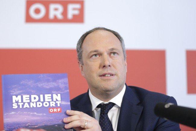 Der Noch-ORF-Finanzchef Richard Grasl.