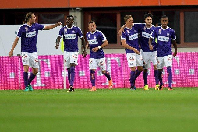 LIVE-Ticker zum Spiel FK Austria Wien gegen SCR Altach ab 19.00 Uhr.