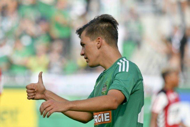 Rapid steht vor dem Einzug in die Gruppenphase der Europa League.