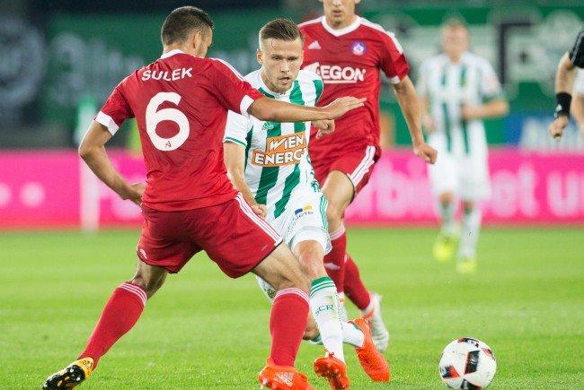 Rapid stolperte im Rückspiel gegen Trenčín, stieg mit dem Gesamtscore von 4:2 aber dennoch in die Gruppenphase der Europa League auf.