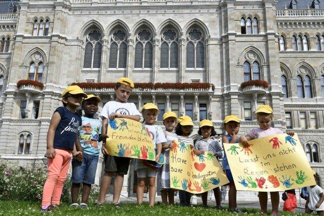 """Das Aus für 33 """"Alt-Wien"""" Kindergärten steht mit dem Fördermittelstopp nun fest"""