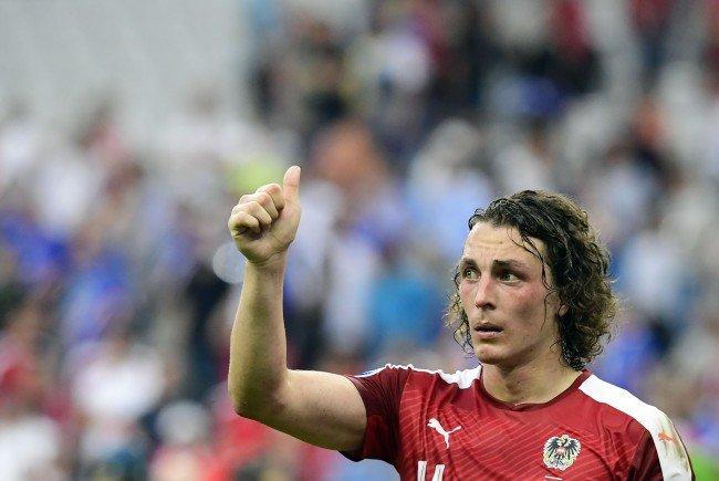 Julian Baumgartlinger ist der neue ÖFB-Kapitän.