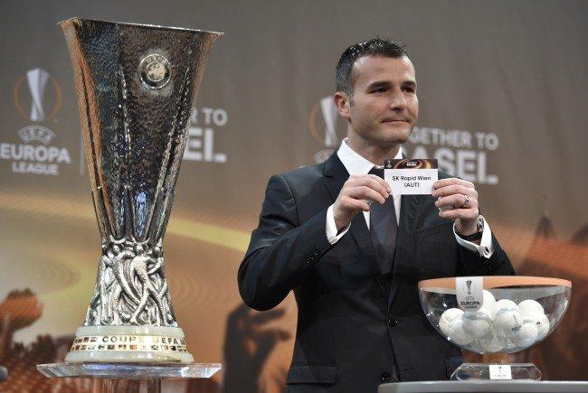 LIVE-Ticker zum Auslosung der Europa League-Gruppenphase mit Austria, Rapid, Salzburg.