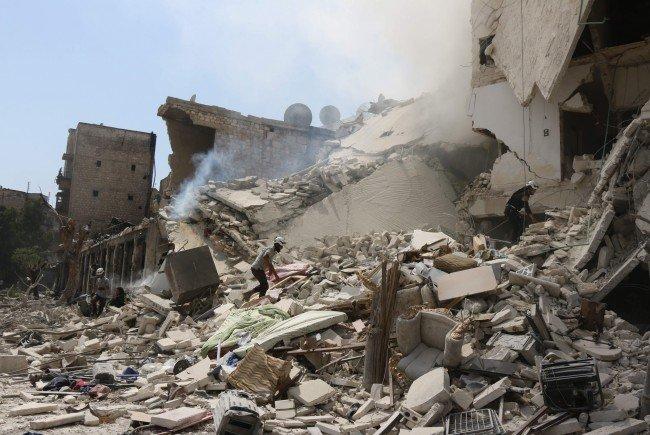 Der Ministerrat beschließt zwei Millionen Euro an Hilfsgeldern für Aleppo