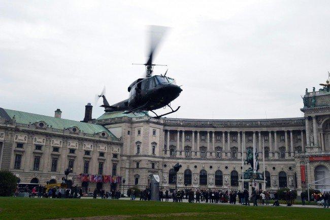 Das Bundesheer wird am Nationalfeiertag diesmal für die Leistungsschau in mehreren Wiener Standorten zugegen sein