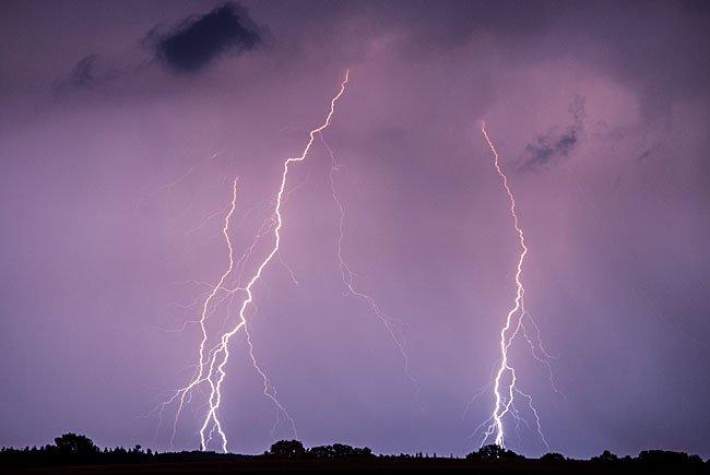 Das Wetter schlägt um - Gewitter stehen uns ins Haus