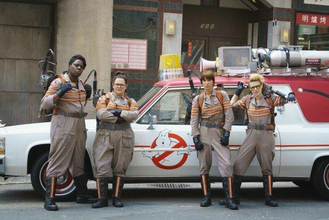 """Interviews mit der Cast von """"Ghostbusters"""""""