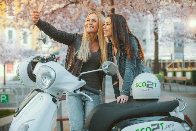 Selfie von dir und deiner Stadt